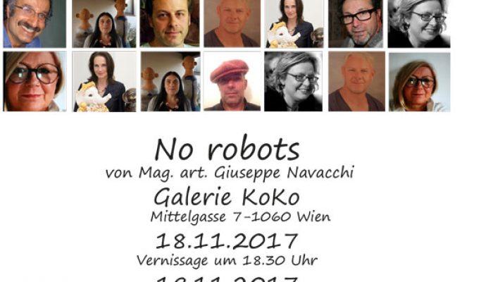 """Ausstellung """"No Robots"""""""